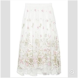 リリーブラウン(Lily Brown)の リリーブラウン チュールスカート(ひざ丈スカート)