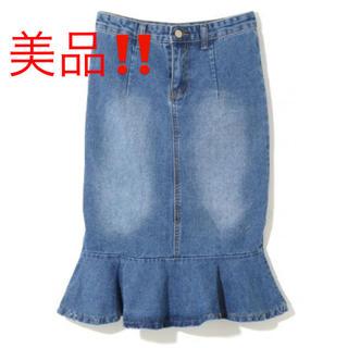グレイル(GRL)の美品‼️新品 グレイル  GRL マーメイド フレア スカート タイトスカート(ひざ丈スカート)
