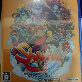 プレイステーション4(PlayStation4)の新品未開封美品☆PS4 シャンティ ハーフ・ジーニー ヒーロー アルティメット(家庭用ゲームソフト)