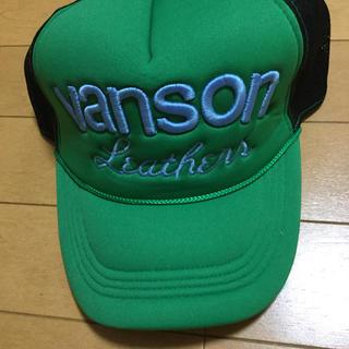 バンソン(VANSON)のVANSON バンソン メッシュキャップ スナップバック 帽子 未使用 ①(キャップ)