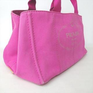 プラダ(PRADA)のプラダ PRADA ハンド トート バッグ フューシャ カナパ 1133(ハンドバッグ)