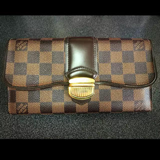 ルイヴィトン(LOUIS VUITTON)のルイヴィトン LOUIS VUITTON ダミエ 長財布(財布)