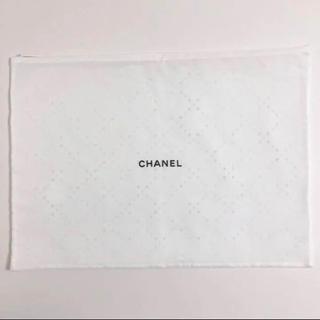 シャネル(CHANEL)のCHANEL シャネル 保存袋 袋 レア 47.5×34cm USED ポーチ(ポーチ)