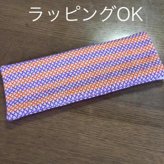 ハンドメイド  刺繍メガネ ペンケース(その他)