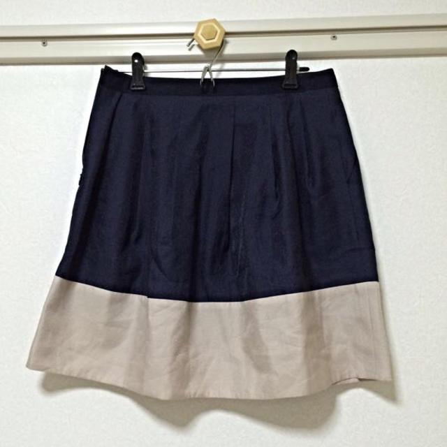 green label relaxing(グリーンレーベルリラクシング)のグリーンレーベルリラクシング スカート レディースのスカート(ひざ丈スカート)の商品写真