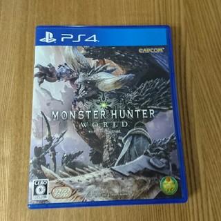 プレイステーション4(PlayStation4)のモンスターハンター ワールド(家庭用ゲームソフト)
