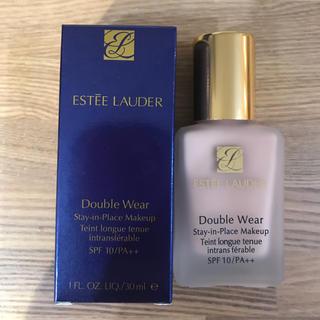 エスティローダー(Estee Lauder)の新品 エスティローダー ダブルウェア #62 クールバニラ ファンデーション (ファンデーション)