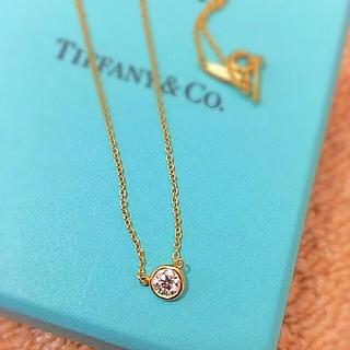 ティファニー(Tiffany & Co.)の最終値下げ!ティファニー ダイヤモンドバイザヤード ネックレス K18(ネックレス)