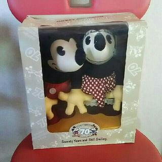 ディズニー(Disney)のDISNEY 【ミッキー&ミニー 生誕70周年】 ディズニー ぬいぐるみ(ぬいぐるみ)