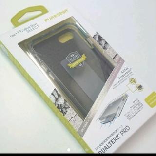 iphone7 カバー DUALTEK PRO BLACK(iPhoneケース)