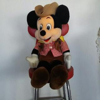 ディズニー(Disney)のコスチュームが可愛い【カウボーイ ミッキー】 TDL東京ディズニーランド(ぬいぐるみ)