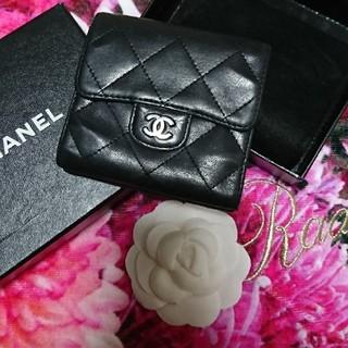 CHANEL - CHANEL 折り畳み財布