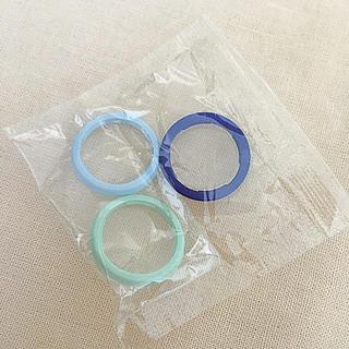 フィリップス(PHILIPS)の電動歯ブラシ☆ ソニッケアー 付属品 カラー リング 3個セット(電動歯ブラシ)