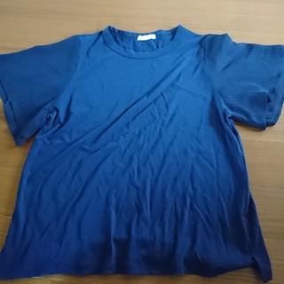 スタディオクリップ(STUDIO CLIP)のstudio clip 半袖 カットソー ふんわり袖 大きいサイズ(カットソー(半袖/袖なし))