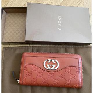 グッチ(Gucci)の正規品☆88000円☆グッチ☆スーキー☆GG☆ラウンドファスナー☆箱付(財布)