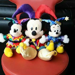 ディズニー(Disney)のTDL 【15周年☆ぬいぐるみ&ぬいぐるみバッチ】 東京ディズニーランド(ぬいぐるみ)