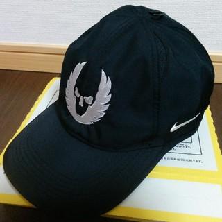 ナイキ(NIKE)の【新品未使用】NIKE オレゴンプロジェクト Dri-Fitフェザーキャップ黒(その他)