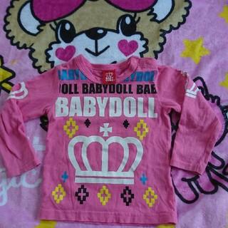 ベビードール(BABYDOLL)のBABYDOLLロゴロンT90(Tシャツ/カットソー)