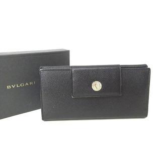 ブルガリ(BVLGARI)のブルガリ BVLGARI 長財布 Wホック 三つ折り財布 レザー 1134(長財布)