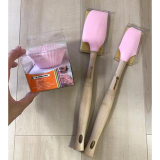 ルクルーゼ(LE CREUSET)のルクルーゼ スパチュラ カップ(調理道具/製菓道具)