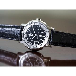 ブルガリ(BVLGARI)の美品 ブルガリ ソロテンポ ST29S ブラック レディース Bvlgari(腕時計)