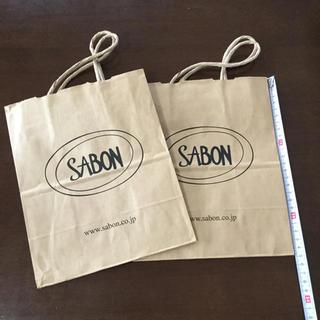 サボン(SABON)のSABON ショップ紙袋(ショップ袋)