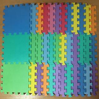 カラーマット プレイマット 36枚 と 他9枚(フロアマット)