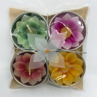 花のキャンドルセット タイ土産(キャンドル)