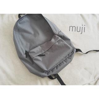 MUJI (無印良品) - 美品 無印良品 muji リュック グレー バックパック ナイロン
