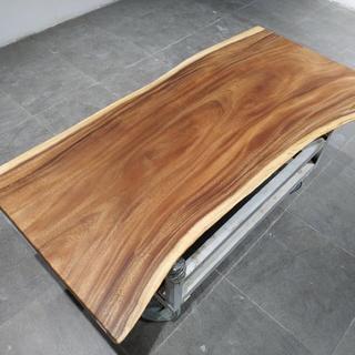 天然木板一枚(ローテーブル)