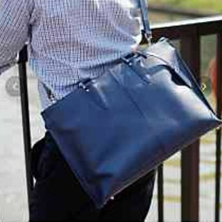 GUIONNETビジネス鞄ネイビー(ビジネスバッグ)