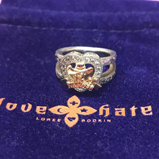 ローリーロドキン(Loree Rodkin)のlove & hate ラブ アンド ヘイト ウエスタン スカル リング 指輪(リング(指輪))