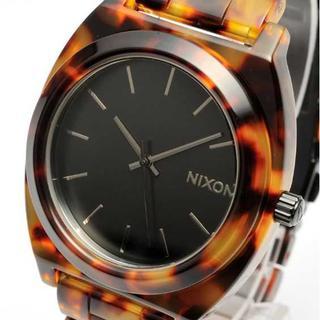 ニクソン(NIXON)の✨大人気べっ甲✨ 新品 ニクソン 腕時計 タイムテラーアセテート(腕時計)