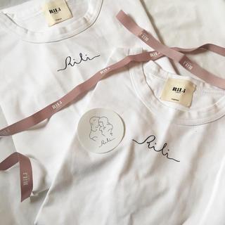 フーズフーチコ(who's who Chico)のrili_tokyo ロゴtシャツ (Tシャツ(半袖/袖なし))