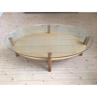フランフラン(Francfranc)のフランフラン オーガ コーヒーテーブル(ローテーブル)