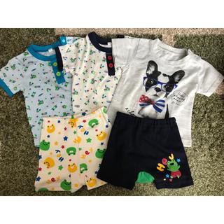 Tシャツ ズボン セット 70(Tシャツ)