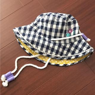 プチジャム(Petit jam)の美品 52cm リバーシブル プチジャム 帽子(帽子)