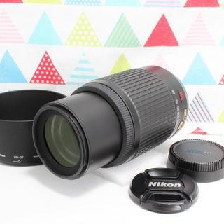 ニコン(Nikon)の☆フード付☆ ニコン AF-S 55-200mm VR 望遠 手振れ補正(レンズ(ズーム))
