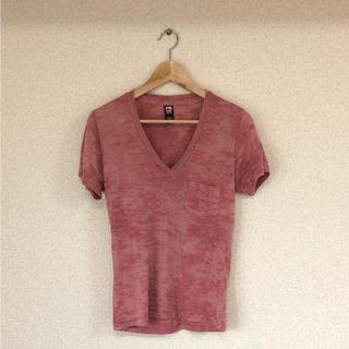 オルタナティブ(ALTERNATIVE)のalternative Vネック Tシャツ(Tシャツ/カットソー(半袖/袖なし))