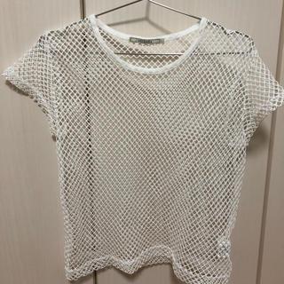 アウラアイラ(AULA AILA)のAULA AILAメッシュトップス☆(Tシャツ(半袖/袖なし))