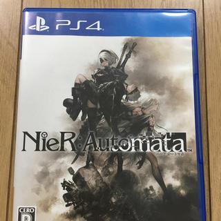 プレイステーション4(PlayStation4)のニーアオートマタ ps4 スクエニポイント付き(家庭用ゲームソフト)