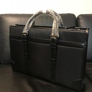 コムサメン(COMME CA MEN)の新品 未使用 人気 コムサメン ビジネスバック 黒 定番 3WAY(ビジネスバッグ)