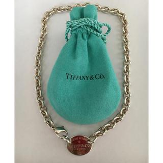 ティファニー(Tiffany & Co.)の3 ティファニー リターントゥー チェーンネックレス(ネックレス)