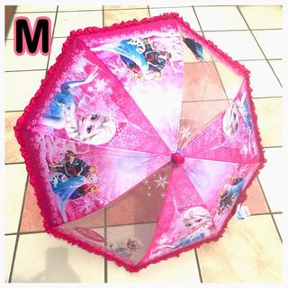 ディズニー(Disney)の新作 ! アナ雪 傘 M 雨傘 ジャンプ キッズ 子供 女の子 プリンセス (傘)