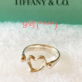 ティファニー(Tiffany & Co.)の只今値下げ中 ハートリング 9号(*^^*)(リング(指輪))