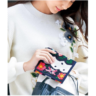 Chesty - 新品♡Scallop Dot Handkerchief Pouch