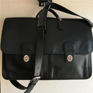コーチ(COACH)の美品 COACH 約90000円 グローブレザー2WAYビジネスバッグ(ビジネスバッグ)