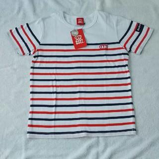 ベビードール(BABYDOLL)の140 新品 タグ付き ベビードール ボーダー Tシャツ(Tシャツ/カットソー)