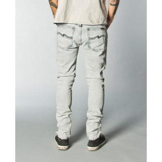 ヌーディジーンズ(Nudie Jeans)のNudie Jeans TIGHT LONG JOHN Black Bleach(デニム/ジーンズ)