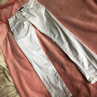 roshell メンズ パンツ ボトムス スキニー ホワイト M 未使用 綿(チノパン)